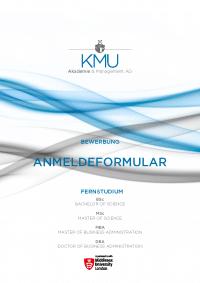 Anmeldung KMU Akademie - Anmeldeformular